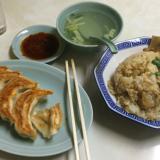 「餃子のみんみん」で餃子とあさりチャーハンのコラボ(吉祥寺ハモニカ横丁)