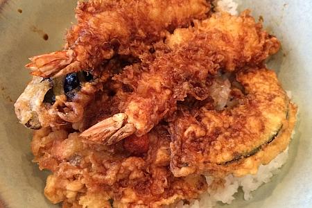 吉祥寺の天ぷら「天きち」でランチタイム天丼をいただきました