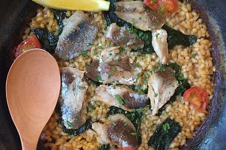 吉祥寺スペイン料理レストラン「Dos gatos(ドスガトス)」のパエリアでご褒美ランチ