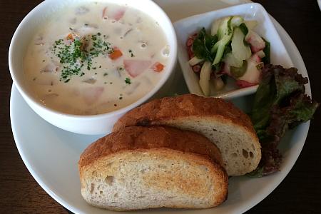 東小金井の創作料理「レストラン WAI」の小金井野菜と「ママンのランチ」にご機嫌