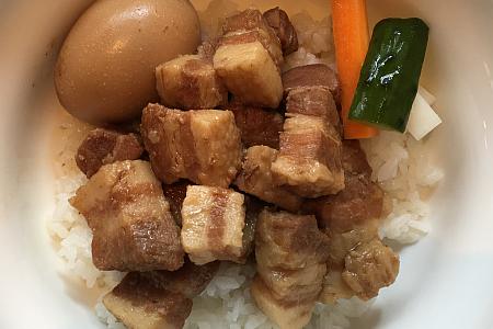 台湾茶藝館「月和茶(ユエフウチャ)」吉祥寺店で魯肉飯(ルウロウファン)のランチ定食