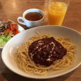 「トスカーナ(TOSCANA)」吉祥寺店でミートソーススパゲティと野菜たっぷりランチビュッフェ