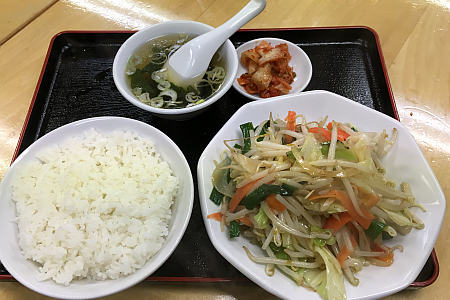 東小金井「一平ソバ」で看板の油そばと気になっていた「ヤサイ定食」を食べてきました