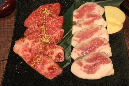 「KollaBo(コラボ)吉祥寺店」で焼肉とサムギョプサルのコラボランチ定食をいただく