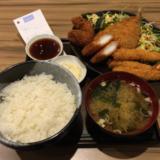 「素人居酒屋 一(ichi)」の「ミックスフライ定食」で量も揚げ具合も満足の吉祥寺ランチ。定食は夜もOK