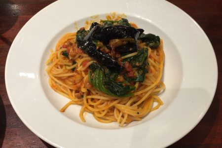 イタリア料理「カプリチョーザ コピス吉祥寺店」でサラダ食べ放題付きランチスパゲティセット
