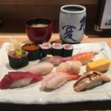 江戸前寿司「築地玉寿司」でお昼のすしメニューから「おすすめにぎり」をいただく