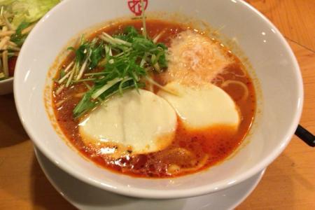 店名の変わった「トマトの花 吉祥寺店」で「モッツァレラチーズの無添加スープトマト麺」を味わう …閉店(業態変更)