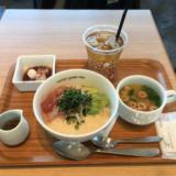 キラリナ京王吉祥寺 6階「nana's green tea」で「天然鮪とアボガドのとろろどんぶり」のランチセット