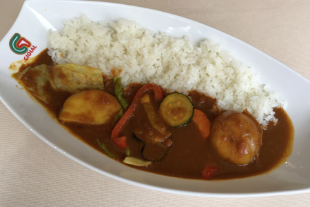 5月末オープンの「グランドジョイアルカレー吉祥寺」で「季節の野菜カレー」をいただく …閉店