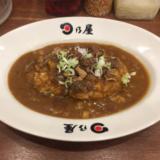 「日乃屋カレー 吉祥寺店」の懐かしい食感の甘辛ルーで「牛すじ煮込みカレー 七分盛」をいただく