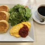3年ぶりの「幸せのパンケーキ 吉祥寺店」でお食事系「パンケーキ&ふわとろオムレツ」をいただく