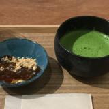 「茶の癒庵(ちゃのゆあん)」の「抹茶」と「ほうじ茶」でマッタリ。「抹茶ふわふわみるく」も美味!