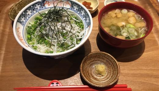 「東急裏」に新たに出店した「吉祥寺もがめ食堂」の「釜あげしらす丼」や「ステキな鯖定食」で大満足!