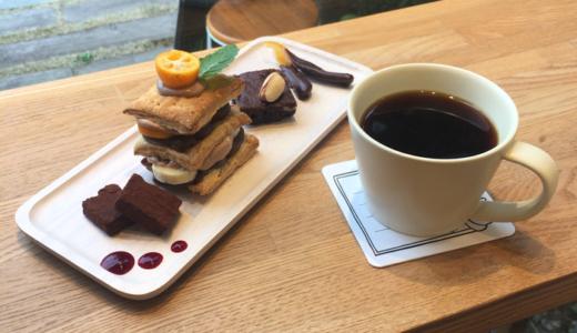 日替わりコーヒースタンド「CAFETELIER(カフェトリエ)」で「Cafe*33」の「チョコレートスイーツプレート」を堪能