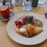 世界の朝食を楽しめる「ワールド ブレックファースト オールデイ(WORLD BREAKFAST ALLDAY)吉祥寺店」で「ロシアの朝ごはん」