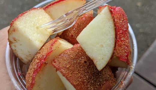 丸井吉祥寺店で期限限定オープン、りんご飴専門店「Candy apple」の冷えた「食べ歩きカット」で公園散歩