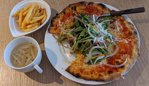 吉祥寺通り「ベジ&ピッツァ(Vegi&Pizza)」の「サラダ Pizza ランチセット」は野菜たっぷりで大満足 …閉店
