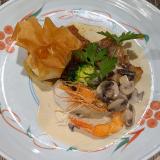 フランス懐石「懐鮮食堂」で味も見た目も素敵な「お昼のコース」で充実した吉祥寺ランチ