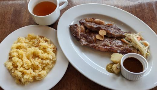 「Nicuta(ニクータ)三鷹北口」で牛肉食った感が満点の「リブステーキ 200g ランチ」をガッツリ