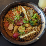 「PEP(ペップ)spanish bar」の野菜たっぷりパエリアで大満足の「吉祥寺ランチ」