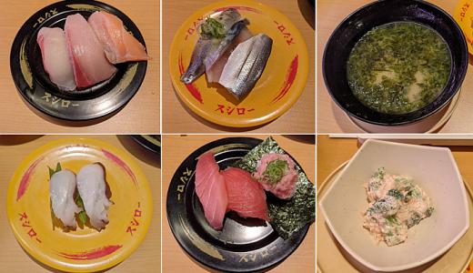 気になる回転寿司「スシロー吉祥寺パルコ店(8階)」で値ごろ感あるお寿司をいただく