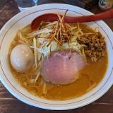 武蔵境「東京味噌らーめん鶉(うずら)」でイチオシの「味玉味噌らーめん」を堪能
